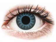 Lentillas de colores especiales - sin graduación - ColourVUE Crazy Lens - Solar Blue - Sin graduar (2 lentillas)