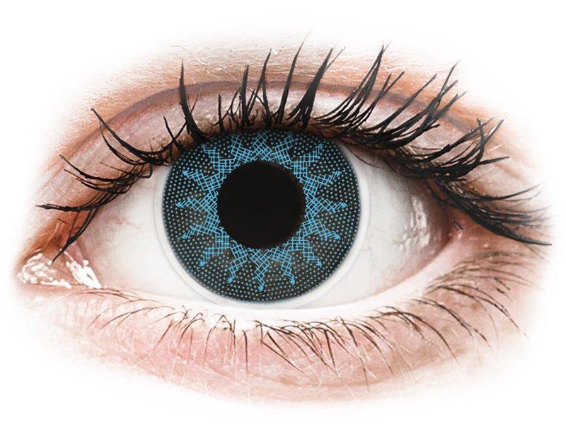 ColourVUE Crazy Lens - Solar Blue - Sin graduar (2 lentillas)