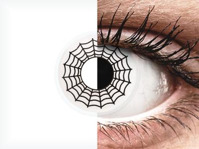 ColourVUE Crazy Lens - Spider - Sin graduar (2 lentillas)