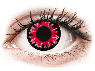 ColourVUE Crazy Lens - Volturi - Sin graduar (2 lentillas) - Lentillas de colores