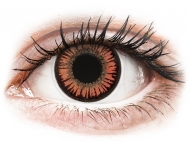 Lentillas de color rojo - sin graduación - ColourVUE Crazy Lens - Vampire - Sin graduar (2 lentillas)