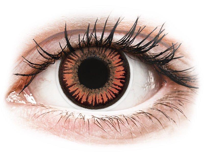 ColourVUE Crazy Lens - Vampire - Sin graduar (2 lentillas)
