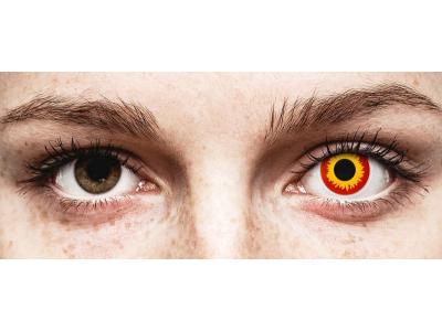 ColourVUE Crazy Lens - Wildfire - Sin graduar (2 lentillas)