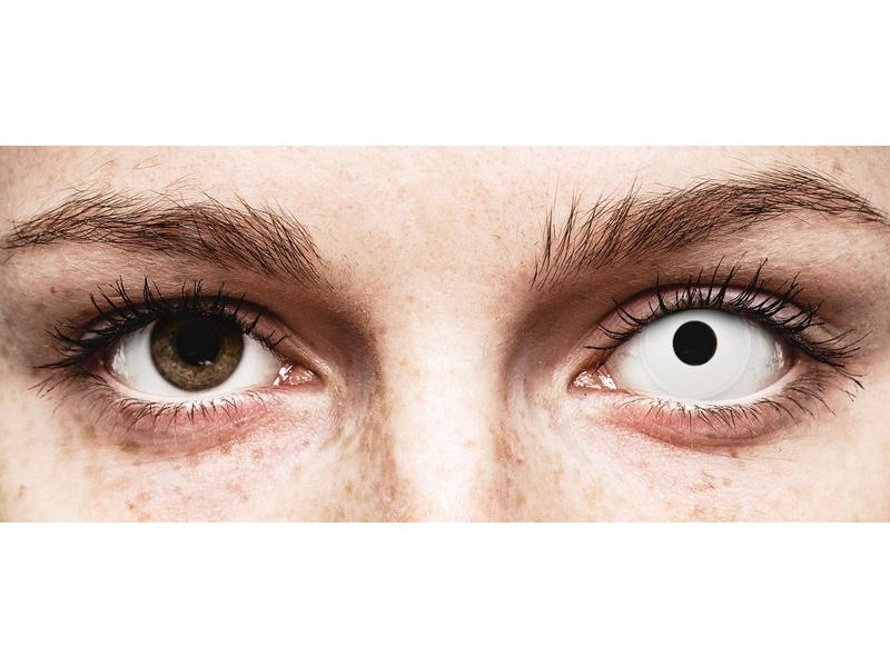 ColourVUE Crazy Lens - WhiteOut - Sin graduar (2 lentillas)