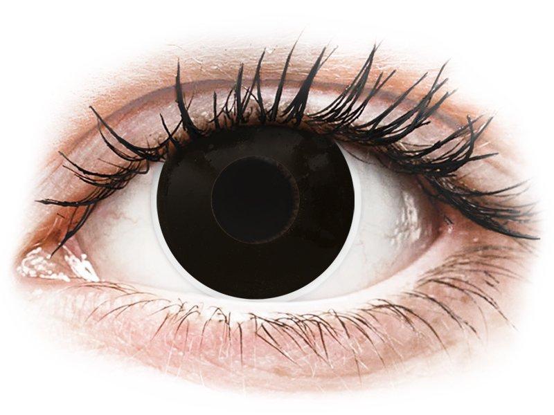ColourVUE Crazy Lens - BlackOut - Graduadas (2 lentillas)