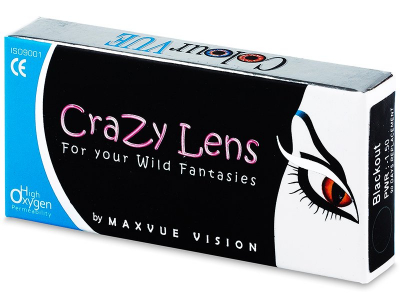 ColourVUE Crazy Lens - White Zombie - Graduadas (2 lentillas)