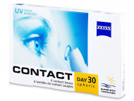 Lentillas Mensuales - Carl Zeiss Contact Day 30 Spheric (6 Lentillas)