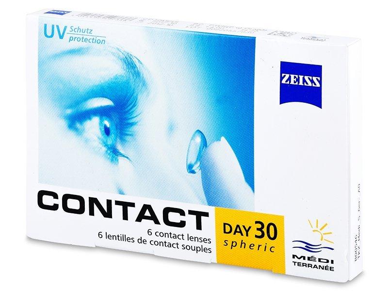 Carl Zeiss Contact Day 30 Spheric (6Lentillas) - Lentes de contacto mensuales