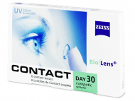 Lentillas Mensuales - Carl Zeiss Contact Day 30 Compatic (6 Lentillas)