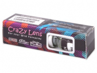 ColourVUE Crazy Glow Azul Eléctrico - Sin graduar (2lentillas)
