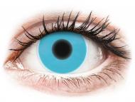 Lentillas Maxvue Vision - ColourVUE Crazy Glow Azul - Sin graduar (2lentillas)