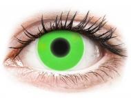 Lentillas de color verde - sin graduación - ColourVUE Crazy Glow Verde - Sin graduar (2lentillas)