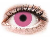 Lentillas Maxvue Vision - ColourVUE Crazy Glow Rosa - Sin graduar (2lentillas)