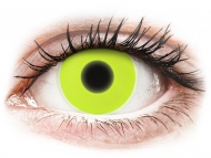 Lentillas Maxvue Vision - ColourVUE Crazy Glow Amarillo - Sin graduar (2lentillas)