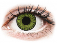Lentillas de color verde - con graduación - TopVue Color daily - Fresh green - Graduadas (10 lentillas)