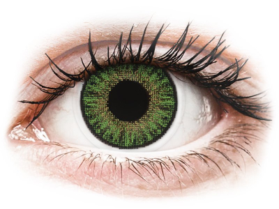 TopVue Color daily - Green - Sin graduar (10 lentillas)