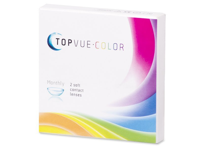 TopVue Color - Grey - Graduadas (2 lentillas) - Diseño antiguo