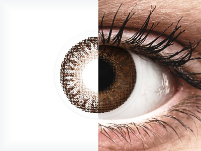 TopVue Color - Brown - Sin graduar (2 lentillas)