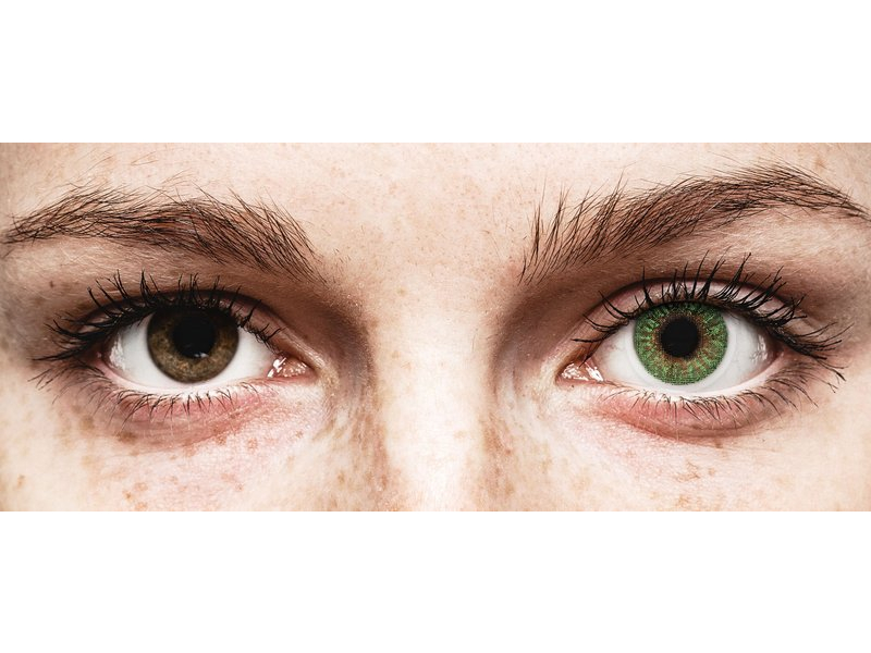 TopVue Color - Green - Sin graduar (2 lentillas)