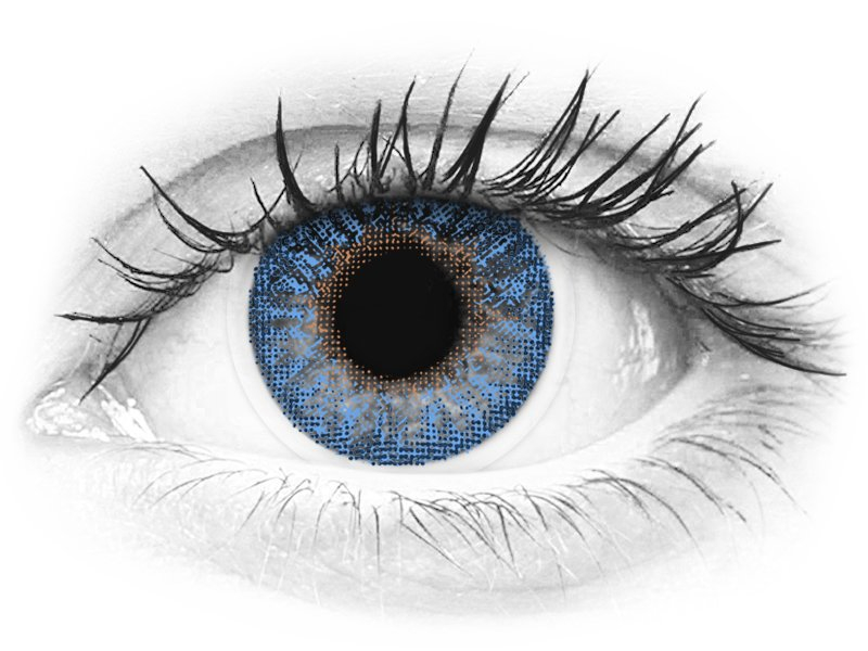 TopVue Color - True Sapphire - Sin graduar (2 lentillas) - TopVue Color - True Sapphire - Sin graduar (2 lentillas)