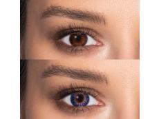 TopVue Color - True Sapphire - Sin graduar (2 lentillas)