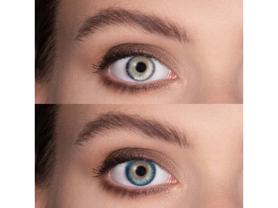 TopVue Color - Turquoise - Sin graduar (2 lentillas)