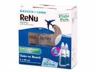Líquidos de lentillas - ReNu Multiplus flight pack 2 x 60 ml