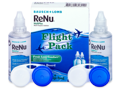 Líquido ReNu Multiplus flight pack 2 x 60 ml