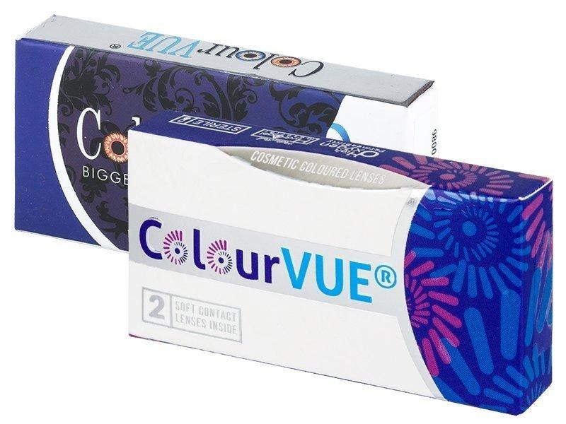 ColourVUE Glamour Aqua - Sin graduar (2lentillas)