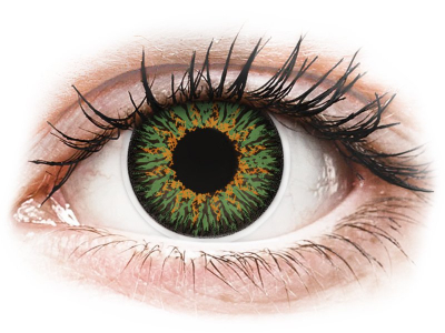 ColourVUE Glamour Green - Sin graduar (2 lentillas)
