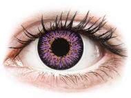 Lentillas de color púrpura - sin graduación - ColourVUE Glamour Violet - Sin graduar (2lentillas)