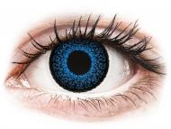 Lentillas de color azul - sin graduación - ColourVUE Eyelush Aqua - Sin graduar (2lentillas)