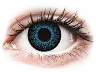 Lentillas de color azul - con graduación - ColourVUE Eyelush Blue - Graduadas (2lentillas)