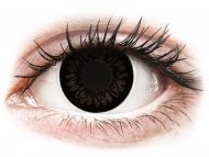 Lentillas Maxvue Vision - ColourVUE BigEyes Dolly Black - Sin graduar (2 lentillas)