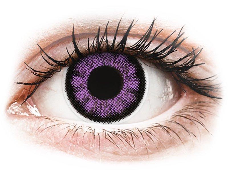 ColourVUE BigEyes Ultra Violet - Sin graduar (2lentillas)