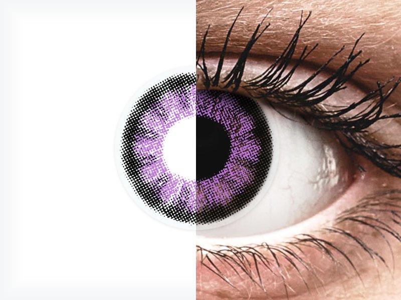 ColourVUE BigEyes Ultra Violet - Sin graduar (2lentillas) - ColourVUE BigEyes Ultra Violet - Sin graduar (2lentillas)
