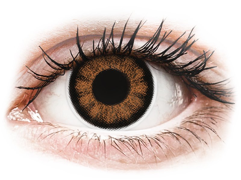 ColourVUE BigEyes Sexy Brown - Sin graduar (2 lentillas)