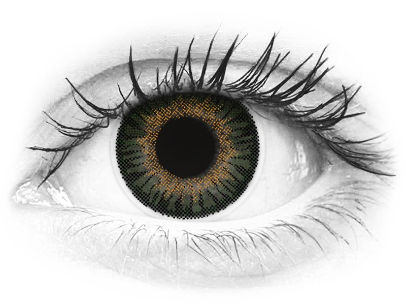 ColourVUE 3 Tones Green - Graduadas (2 lentillas) - ColourVUE 3 Tones Green - Graduadas (2 lentillas)