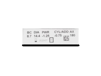 Clariti Toric (6 lentillas) - Previsualización de atributos