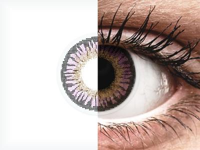 ColourVUE 3 Tones Violet - Sin graduar (2lentillas)