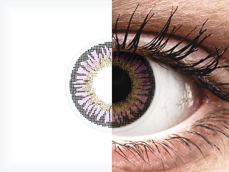 ColourVUE 3 Tones Violet - Sin graduar (2lentillas) - ColourVUE 3 Tones Violet - Sin graduar (2lentillas)