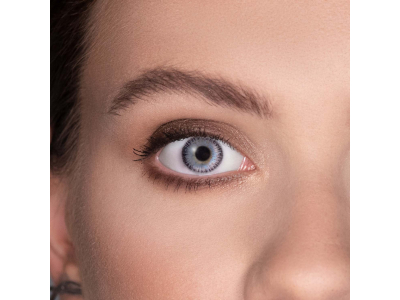 ColourVUE Fusion Blue Gray - Sin graduar (2 lentillas)