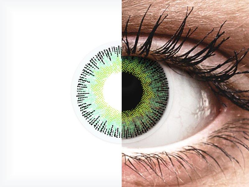ColourVUE Fusion Green Yellow - Graduadas (2lentillas) - ColourVUE Fusion Green Yellow - Graduadas (2lentillas)