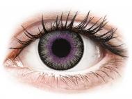 Lentillas de color púrpura - sin graduación - ColourVUE Fusion Violet Gray - Sin graduar (2lentillas)