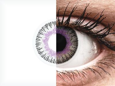 ColourVUE Fusion Violet Gray - Sin graduar (2lentillas)