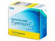 Lentillas Multifocales (Progresivas) - Purevision 2 for Presbyopia (6lentillas)