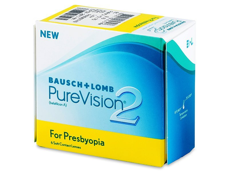 Purevision 2 for Presbyopia (6 lentillas) - Diseño antiguo