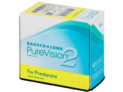 Purevision 2 for Presbyopia (6lentillas) - Lentes de contacto multifocales