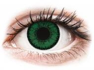 Lentillas de color verde - sin graduación - SofLens Natural Colors Emerald - Sin graduar (2 lentillas)