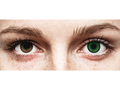 SofLens Natural Colors Emerald - Sin graduar (2 lentillas)